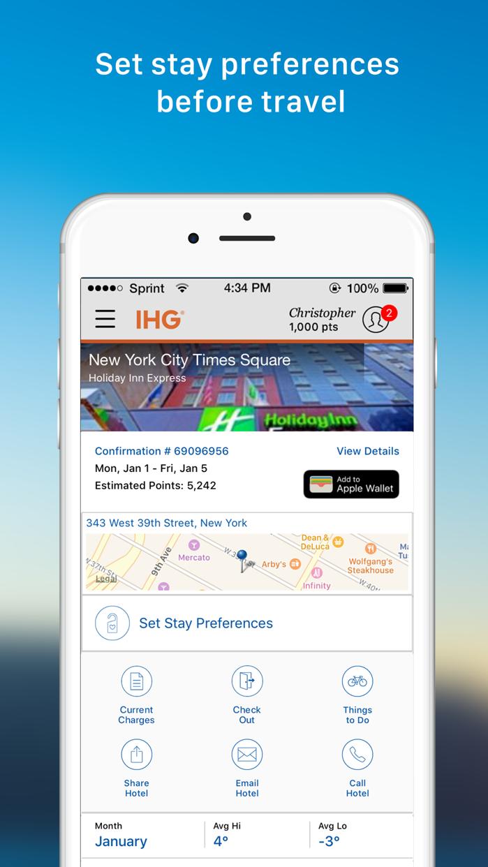 IHG® Hotel Deals & Rewards Screenshot