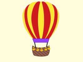 This sticker pack is full of hot air balloons to add to your sticker collection
