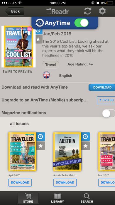 Readr - 10K Magazine Newsstand screenshot 2