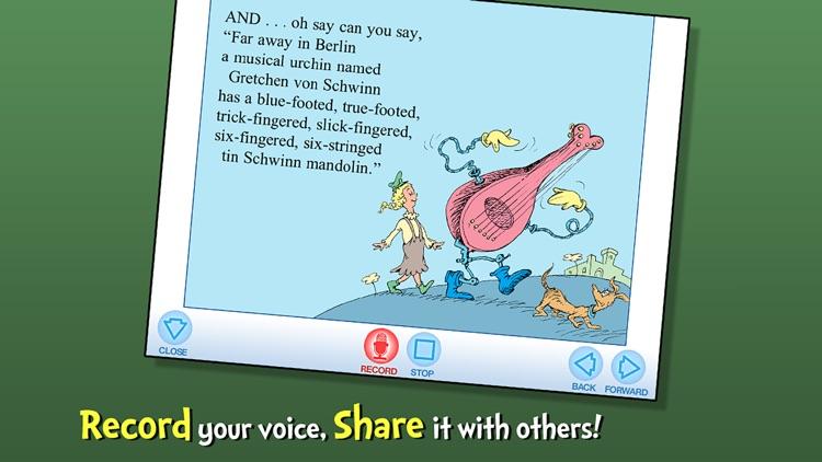Oh Say Can You Say? - Dr. Seuss screenshot-3