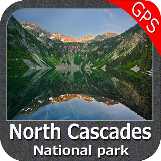 North Cascades National Park - GPS Map Navigator