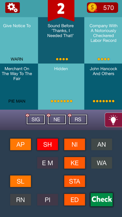Riddles & Words - Puzzle Game screenshot two