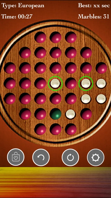 Brainvita Solitaire : Premium! screenshot 2