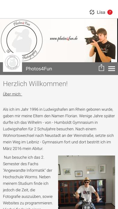 Photos4Fun screenshot 1