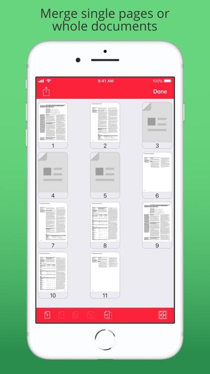 PDF Modify - Simple PDF Merge