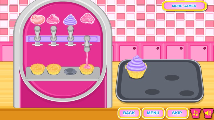 Ice Cream Cone Cupcake Cooking screenshot-3