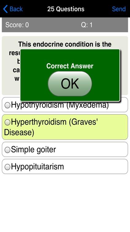 Learning Endocrinology Quiz screenshot-3