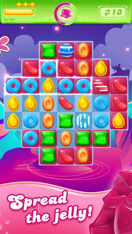 Candy Crush Jelly Saga screenshot-0