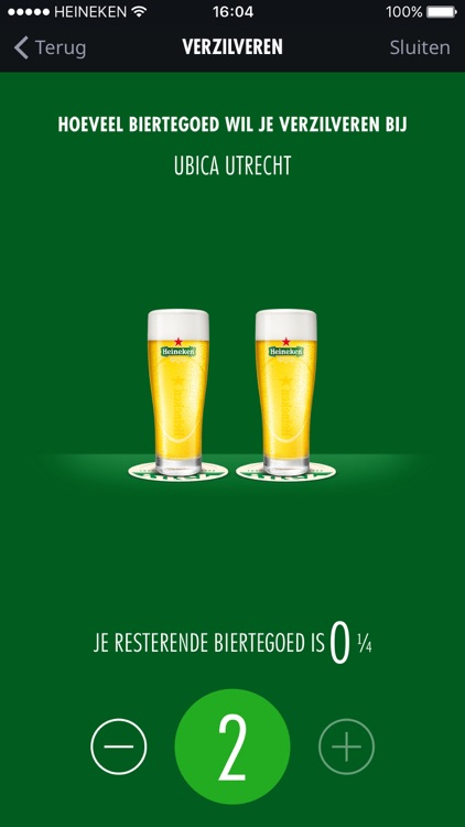 Heineken Biertegoed screenshot-3