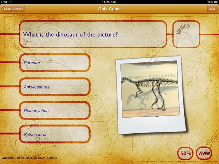 Dinosaur Book HD Lite: iDinobook screenshot-2