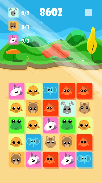Kawaii Animals Saga - Lite screenshot-0