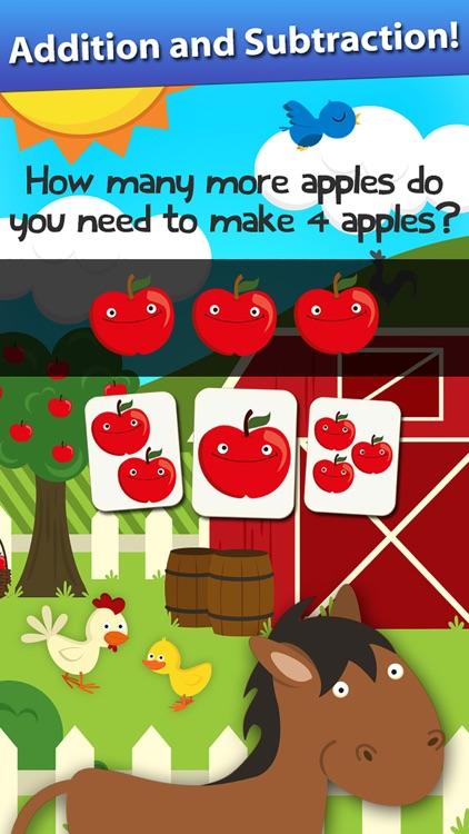 Animal Math Preschool Math Games for Kids Math App