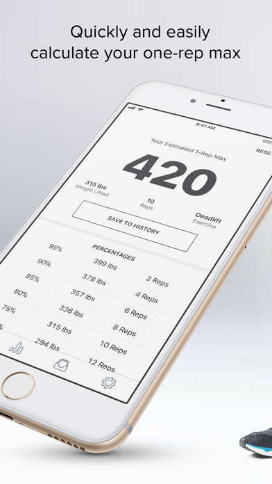 1-RM app image