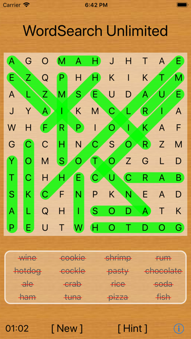 Word Search Unlimitedのおすすめ画像3