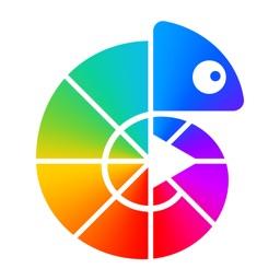 Colorgram Adult coloring book