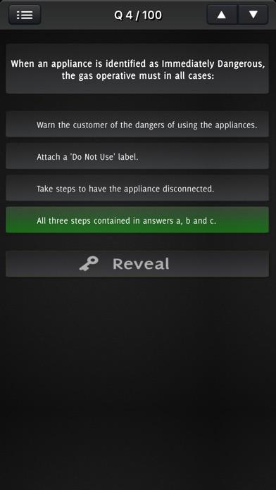 Natural Gas Safety Exam screenshot 2