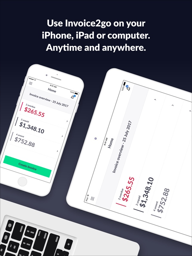 Invoice Go Invoice Estimate On The App Store - Invoice to go free online clothing stores for men