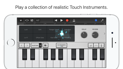GarageBand Screenshot on iOS