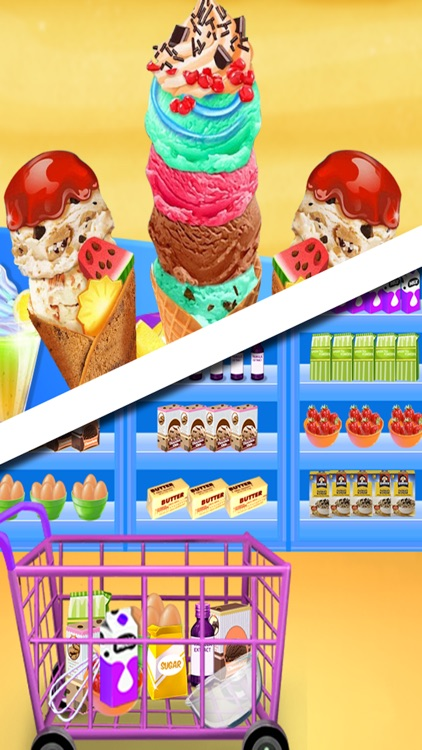 Ice Cream Maker - Cooking Games Fever