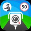 Speedometer by Sygic — Speed Limits, Speed Cameras & Trip Log