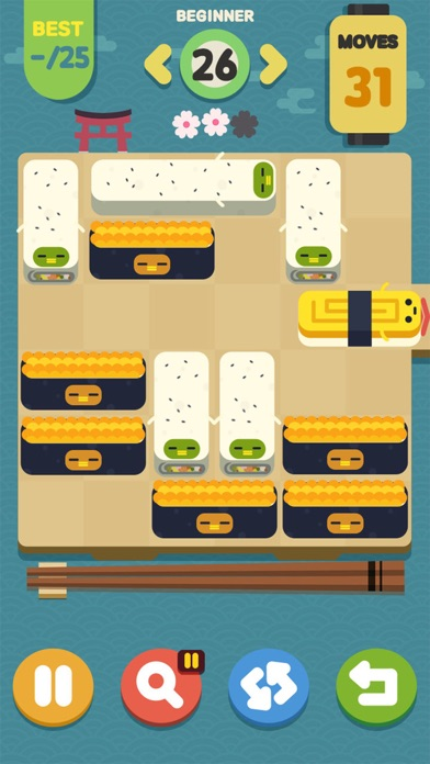 Screenshot 2 Push Sushi - puzzle&unblock