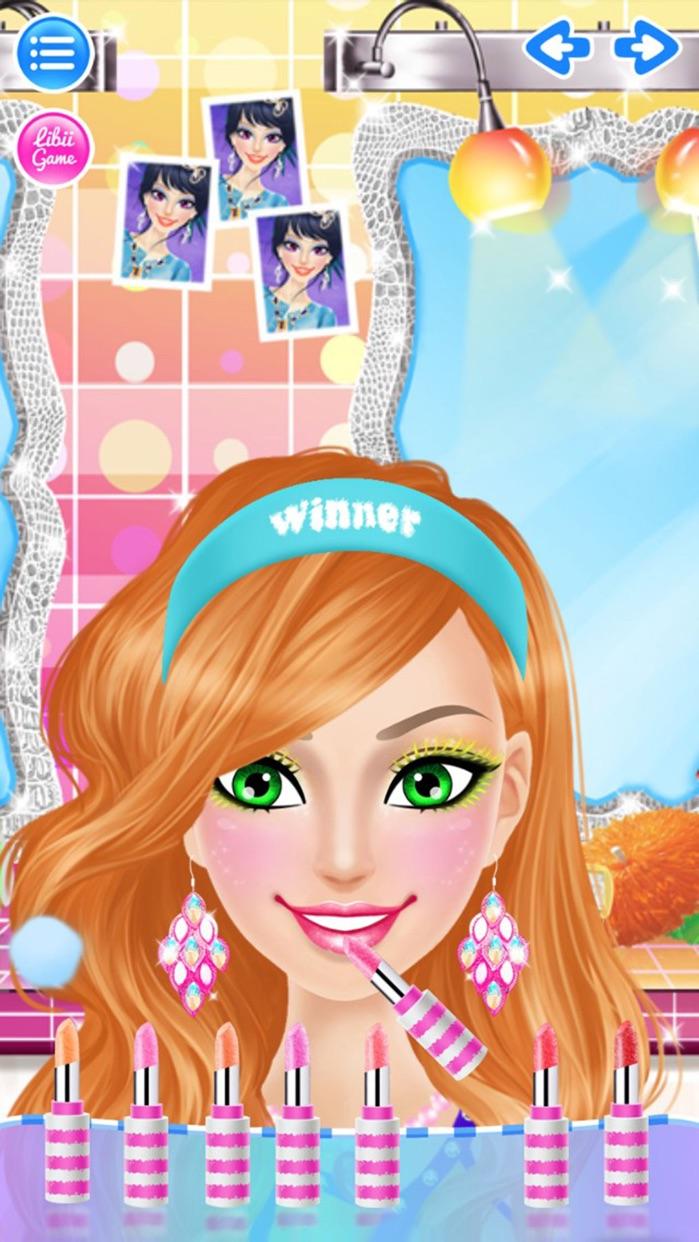 Cheerleader Salon™ Screenshot
