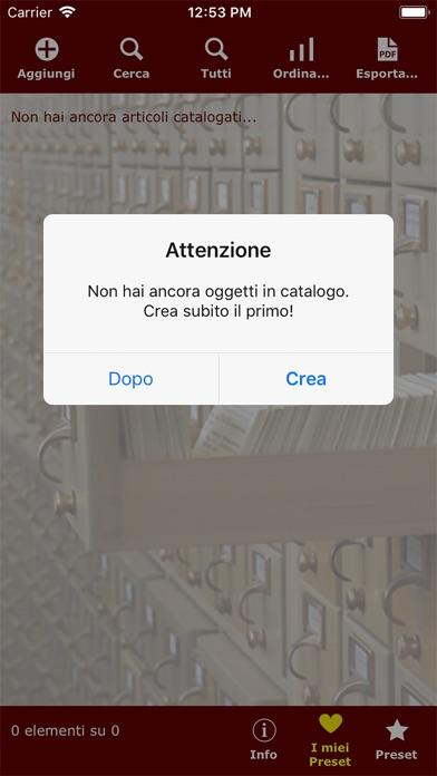 Catalogazione2 ScreenShot3