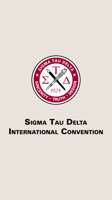 Sigma Tau Delta Convention screenshot 1
