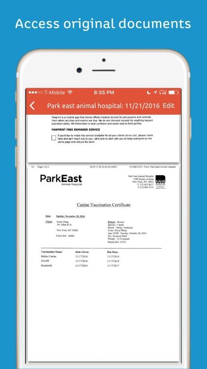 Pawprint - Pet Health Tracker screenshot-3