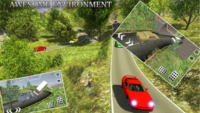Offroad Car Racer - Hill Climb Driving Simulator screenshot three