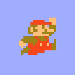 8-bit Super Mario Stickers