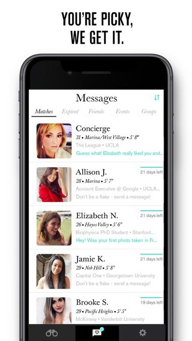 Picky dating app