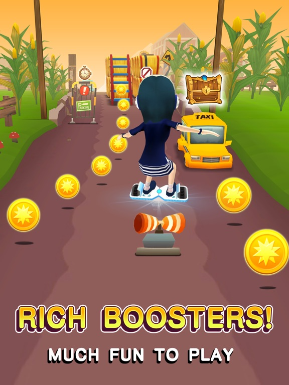 Hoverboard Rush для iPad