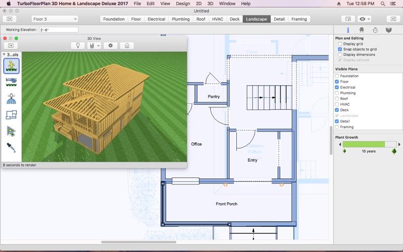 TurboFLOORPLAN Home and Landscape Deluxe 2017 | App Price Drops
