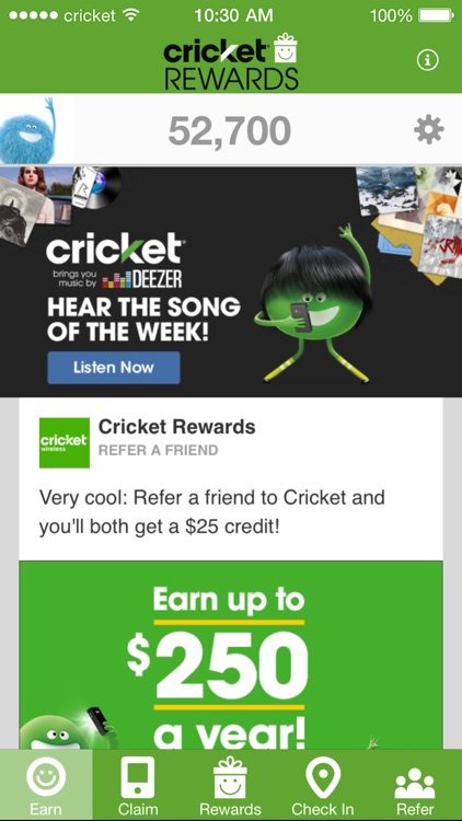 Cricket Rewards By Cricket Wireless Llc