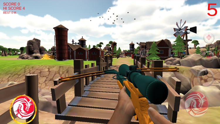 Sniper Chickens screenshot-1