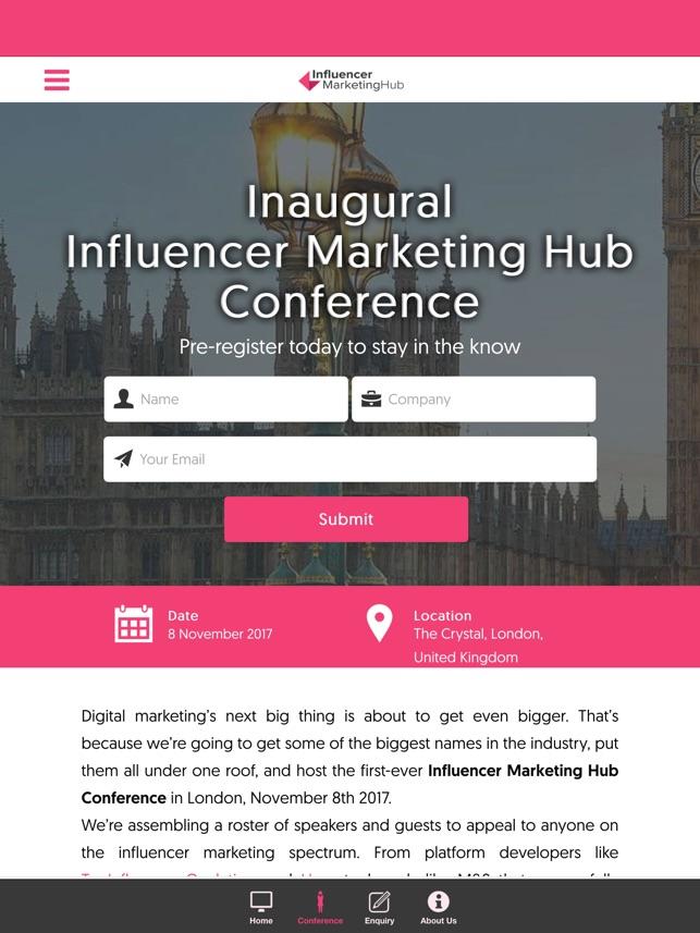 Resultado de imagen para Influencer Marketing Hub