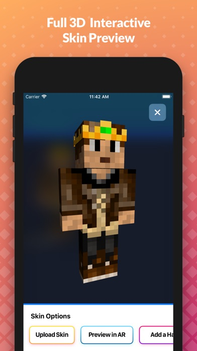 Skin Pro Creator For Minecraft review screenshots