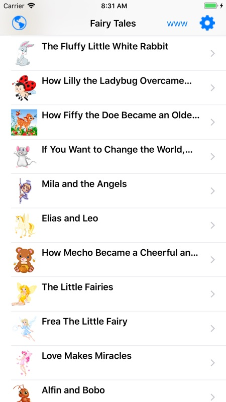 Kids Audio Book - Fairy Tales - Online Game Hack and Cheat