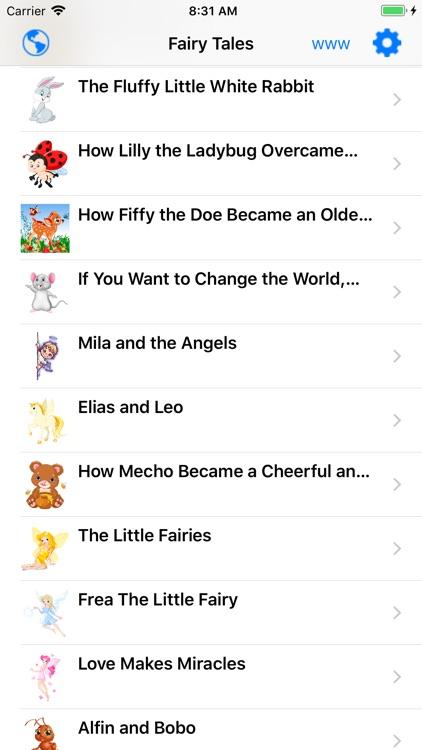 Kids Audio Book - Fairy Tales screenshot-0