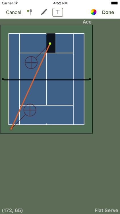 Tennis Score Tracker Basic screenshot-3
