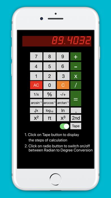 Free Scientific Calculator screenshot 1