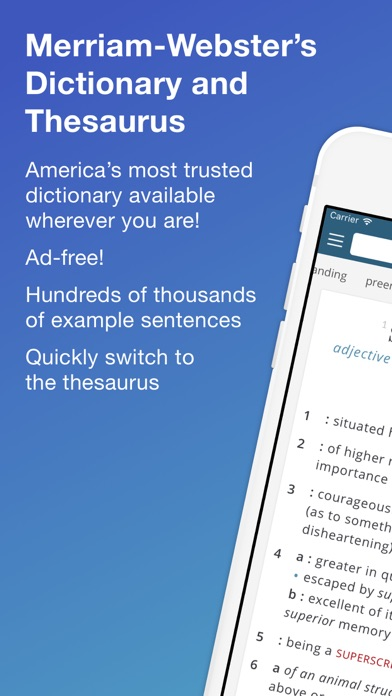 Merriam-Webster Dictionary Pro Screenshot