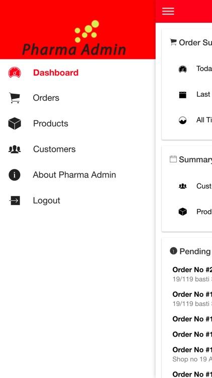 Pharma Admin