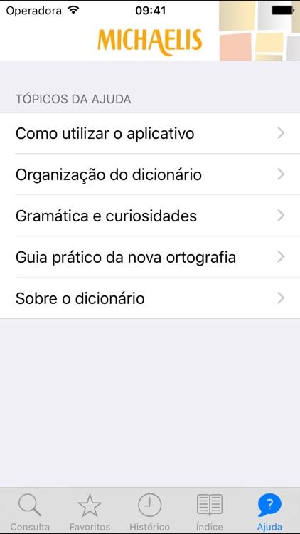 Michaelis Escolar Espanhol screenshot-4