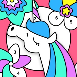 Paint By Number: Coloring Book