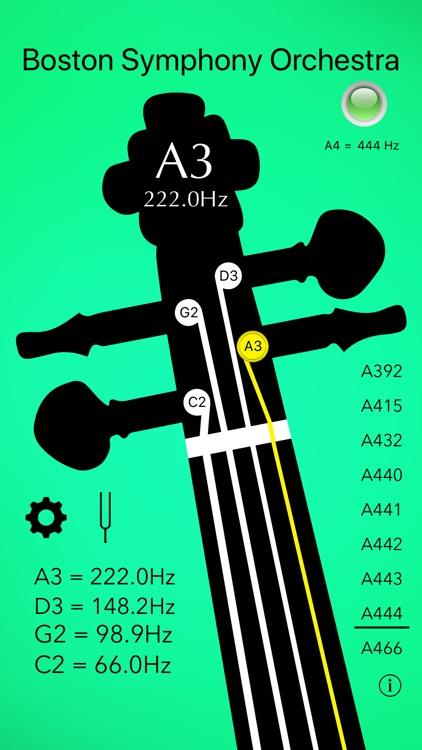 Cello Tuner Basic screenshot-6
