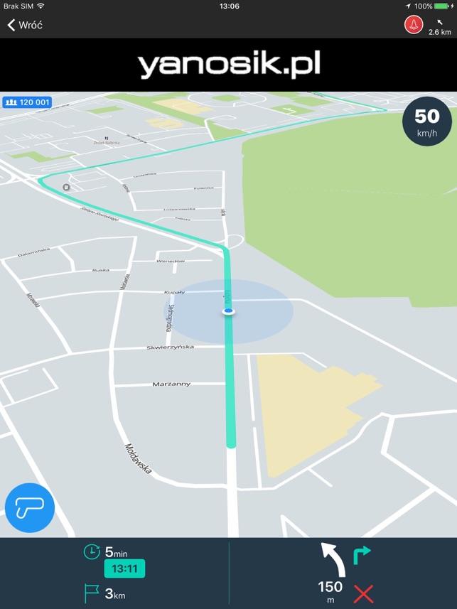 Yanosik Screenshot