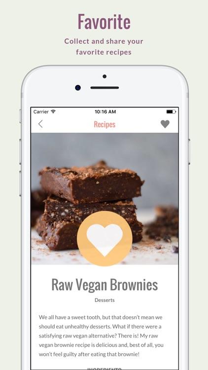 Rawvana's Raw Recipes screenshot-3
