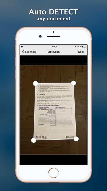 Scanner+ Scan PDF Documents screenshot-1